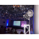 locação de iluminação para eventos de marketing