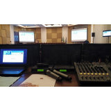 orçamento de aluguel de microfone para congressos Bixiga