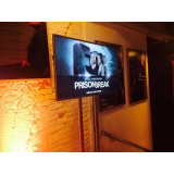 quanto custa aluguel de TV para feiras promocionais Vila Buarque