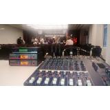 locação de caixa de som para eventos preço Cajamar