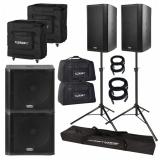 orçamento de locação de caixa de som amplificada Santa Efigênia